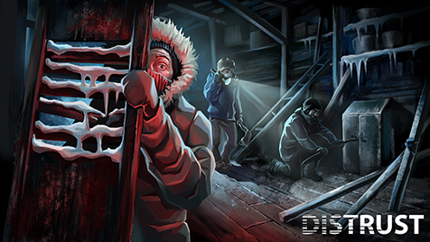 "Inspired by ""The Thing"" movie, Distrust is the Arctic survival game that will bring you to the brink of insanity!"