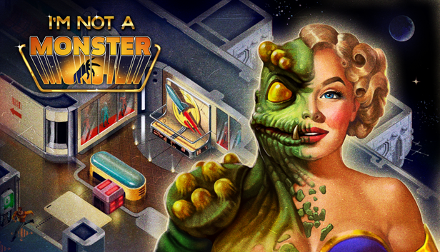 'I'm Not a Monster,' a Turn-Based Tactical Multiplayer Set in a Retro Sci-Fi Future is Launching September 27th via Steam