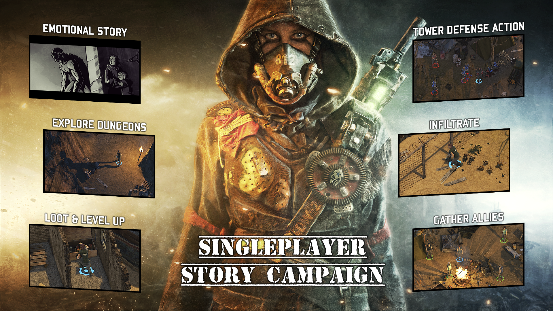 DUSTWIND Launches their Single Player Campaign together with a BIG Update July 25th