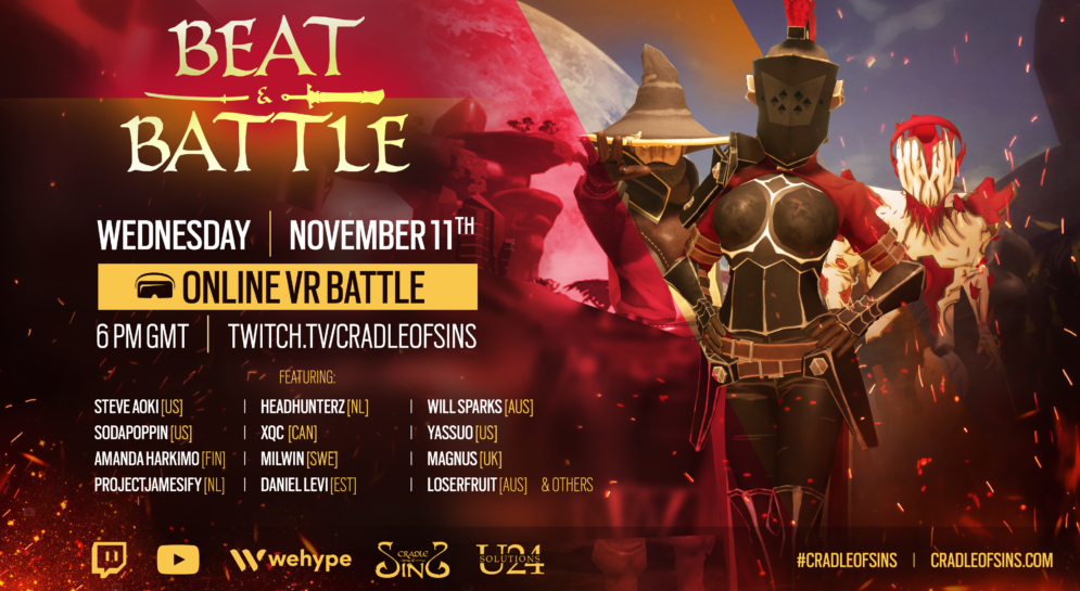 Beat and Battle Cradle of Sins VR